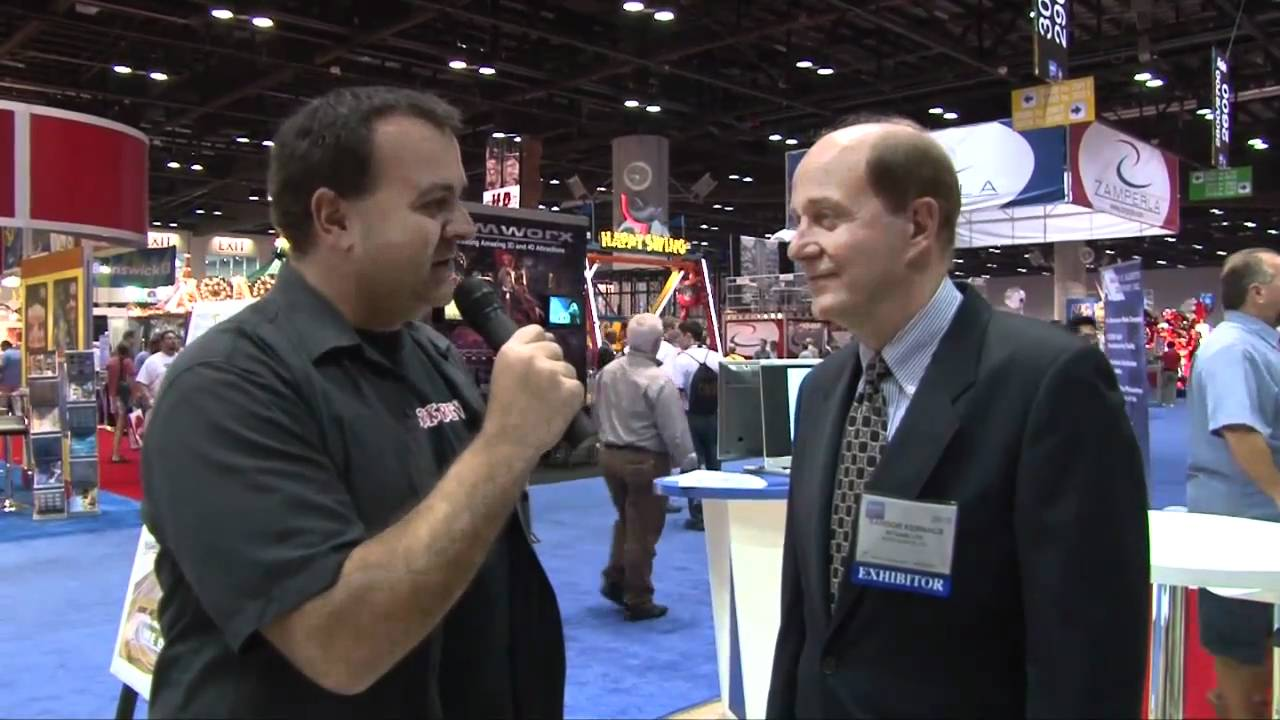 IAAPA 2010 Part 2 - Orlando, Florida - Video Coverage from Theme Park Review