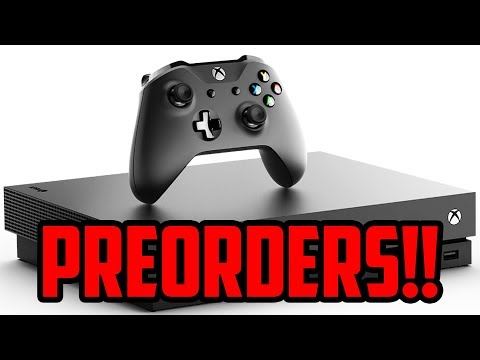 XBOX ONE X PRE ORDER DATE REVEALED!! WORTH YOUR $500??