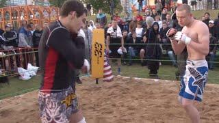 СТРЕЛКА Тайский бокс против ММА бойцы из клуба РОДЪ