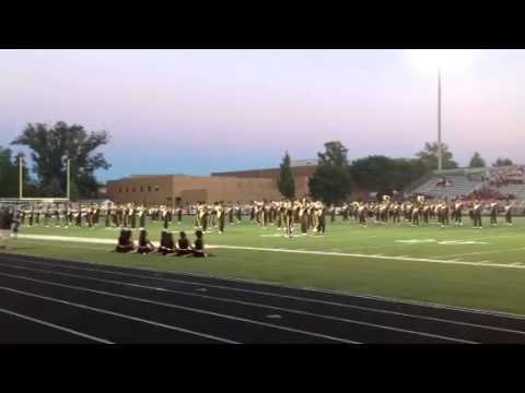 Brush Arcs Marching band