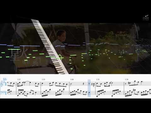 F.I.R. x Lydia - 星火 Spark - 電影 鬥魚 主題曲 - Piano Tutorial 鋼琴教學