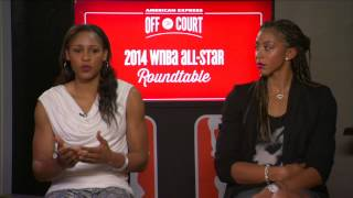 American Express Off the Court 2014 WNBA All-Star Roundtable