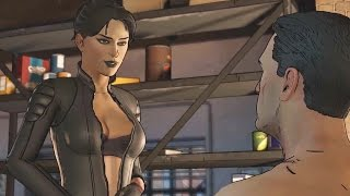 Catwoman and Batman Romance Scene - Batman Telltale Episode 3