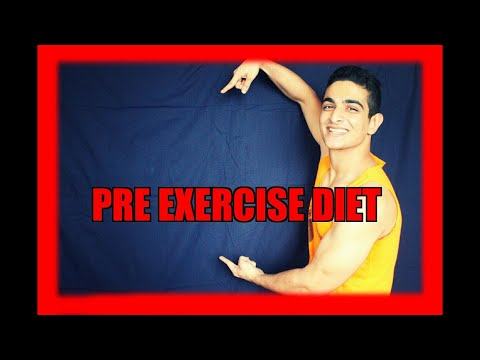 What should I eat before a workout - PRE EXERCISE NUTRITION - BeerBiceps Diet