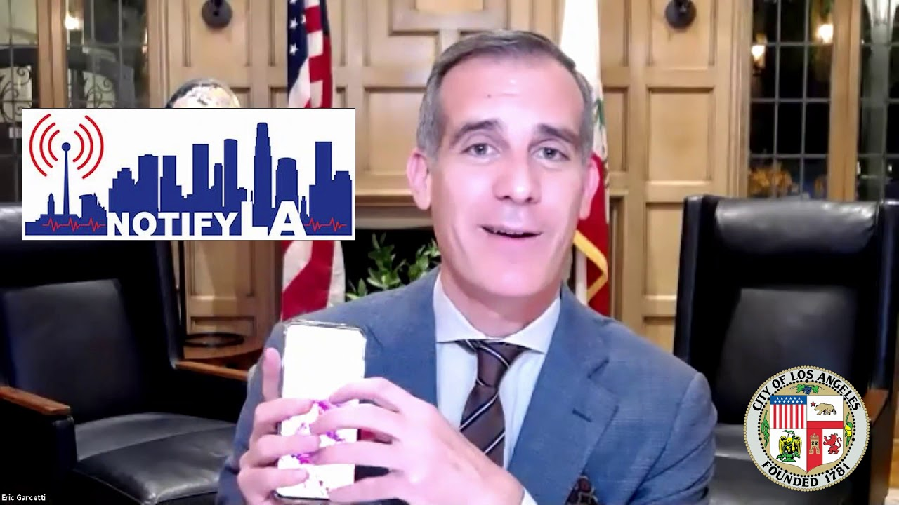 City of Los Angeles: Covid-19 Virtual Town Hall Meeting Mayor's Introduction