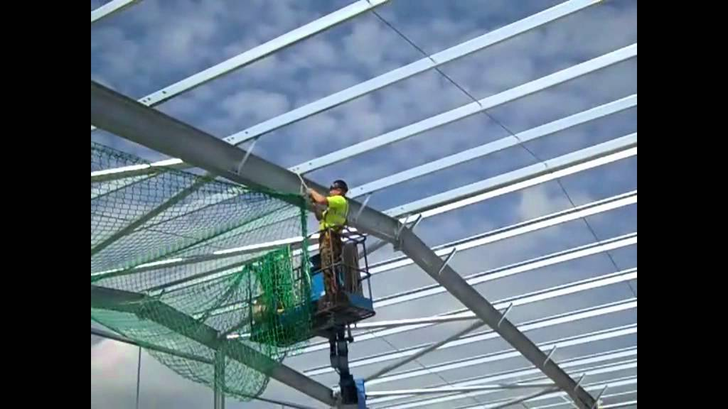 Construction Concerns Fall Protection And Steel Buildings: Belrex Safety Fall Arrest Nets