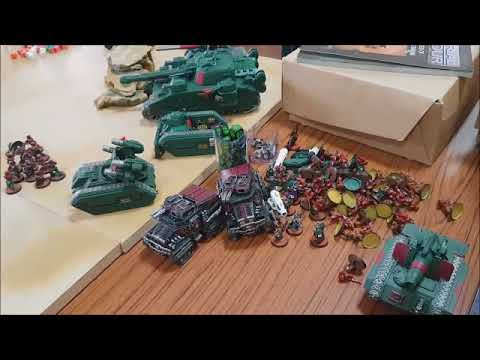 Warhammer 40K Tournament Report - Luton Tabletop Gaming Club 30-09-2017
