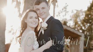 Odom Wedding | November 9, 2019