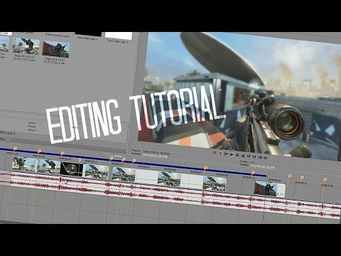 SONY VEGAS EDITING TUTORIAL - Velocity, Sync, P/C Shaking an