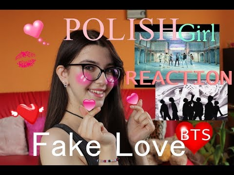 BTS (방탄소년단) FAKE LOVE MV Polishgirl REACTION With ENGLISH SUBS (POLAND)   Sandra Jurczak