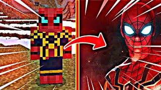 Saiu Novo (ADDON) Do Homem-Aranha Para Minecraft PE