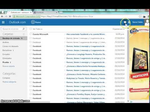 Conectar Una Cuenta De Hotmail Y Facebook Para Chatear