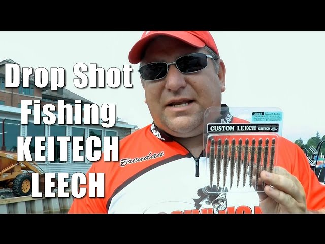 Drop Shot Fishing Keitech Leech