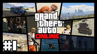 GTA Online #1 Rein-Raus-Bruch | Grand Theft Auto Online | BTTV & Porkchop Media