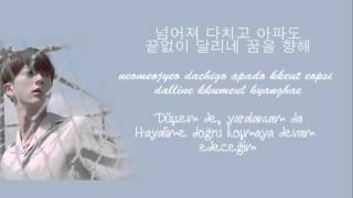bts 방탄소년단 epilogue young forever color coded trke altyazılı    rom    hangul