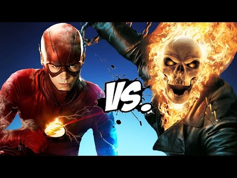 GHOST RIDER VS THE FLASH - EPIC BATTLE - YouTube