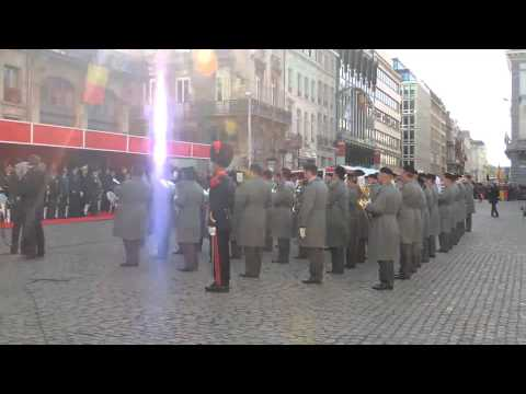 Photoreportage of Armistice day 2013 in Brussels