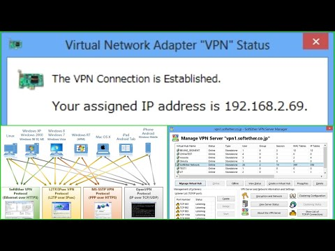 SoftEther VPN Client Manager Use TCP And UDP
