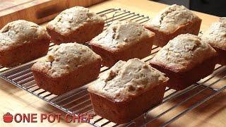 Baby Banana Breads | One Pot Chef