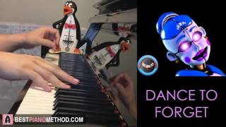 FNAF BALLORA SONG - Dance to Forget - TryHardNinja ft. Nina Zeitlin (Piano Cover by Amosdoll)