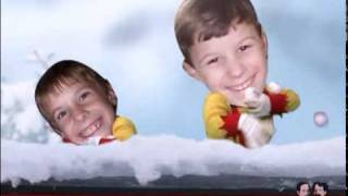 Jibjab Snowball fight Browns/Frisbies