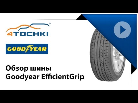 Обзор шины Goodyear EfficientGrip Performance