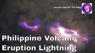 Philippine volcano eruption and ...