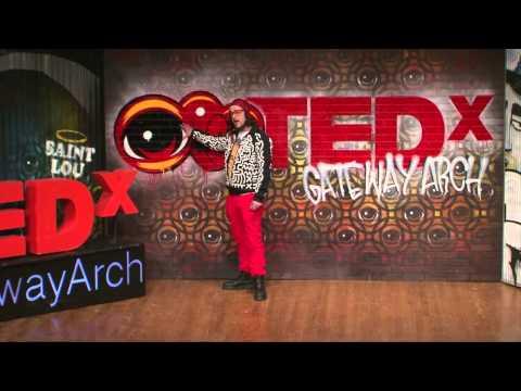 Opening Eyez on the Street | Peat Wollaeger | TEDxGatewayArch