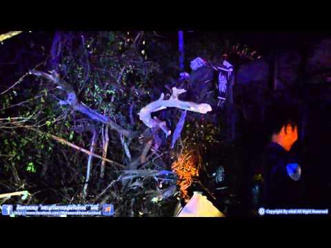 อุบัติเหตุ รถบัส บขส. กรุงเทพ-นครพนม พลิกคว่ำโค้ง บ.ขามเฒ่าพัฒนา อ.กันทรวิชัย 20/03/56 HD