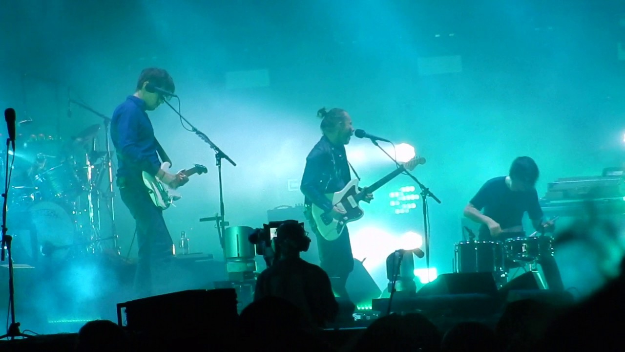 Resultado de imagen de radiohead live 2017