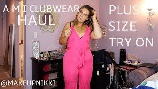 I HAVE A JUMPSUIT OBSESSION | AMI CLUBWEAR PLUS SIZE HAUL