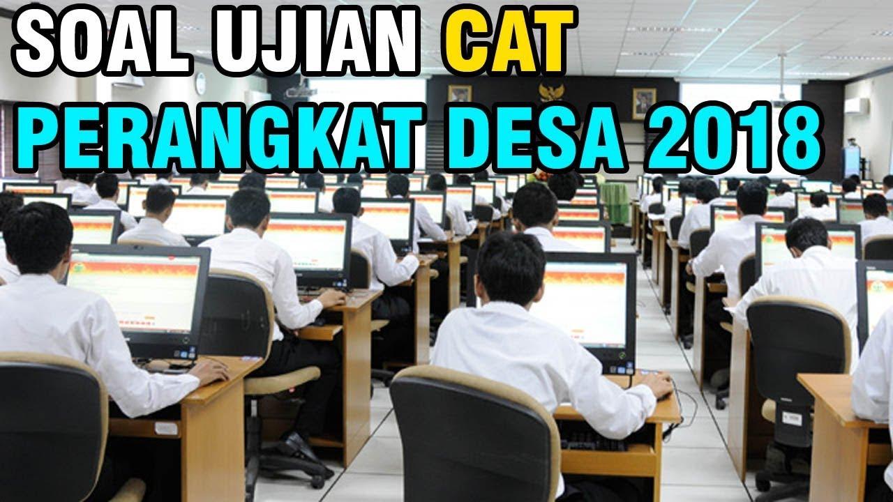 Soal Tes Ujian Perangkat Desa 2019 Cat Beserta Jawabannya Youtube