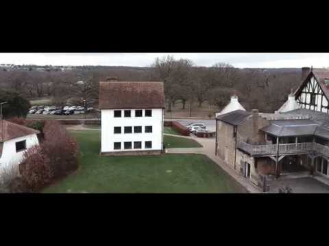 DJI Spark Drone Footage Of Queen Elizabeth's Hunting Lodge And London Views