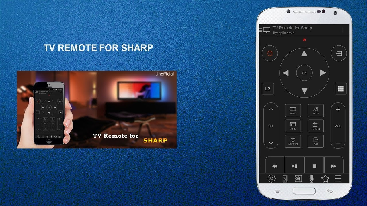 TV REMOTE FOR SHARP