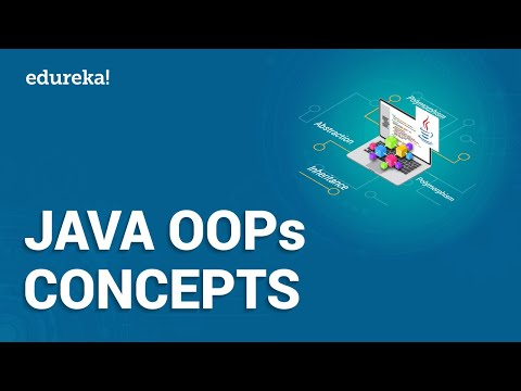 Java OOPs Concepts | Object Oriented Programming | Java Tutorial For Beginners | Edureka