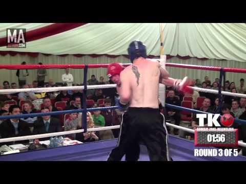 KOMBAT ZONE : RELENTLESS - Ed Kelly vs Gareth Evans