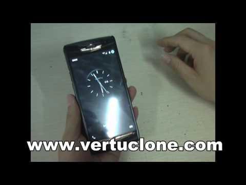 2016 Vertu Signature touch version luxury vertu phone 4G LTE Octa Black ouch phone
