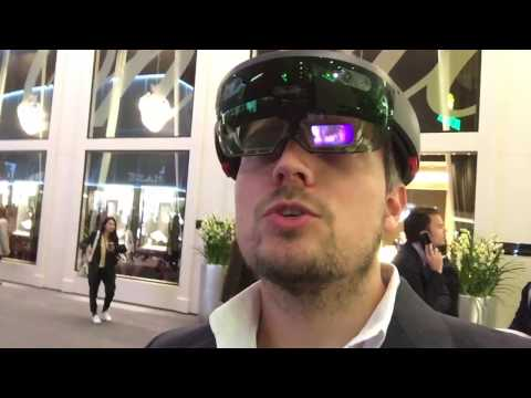 Baselworld 2017 - Day 3 -  how to place Holograms with Microsoft HoloLens by clickon.ch