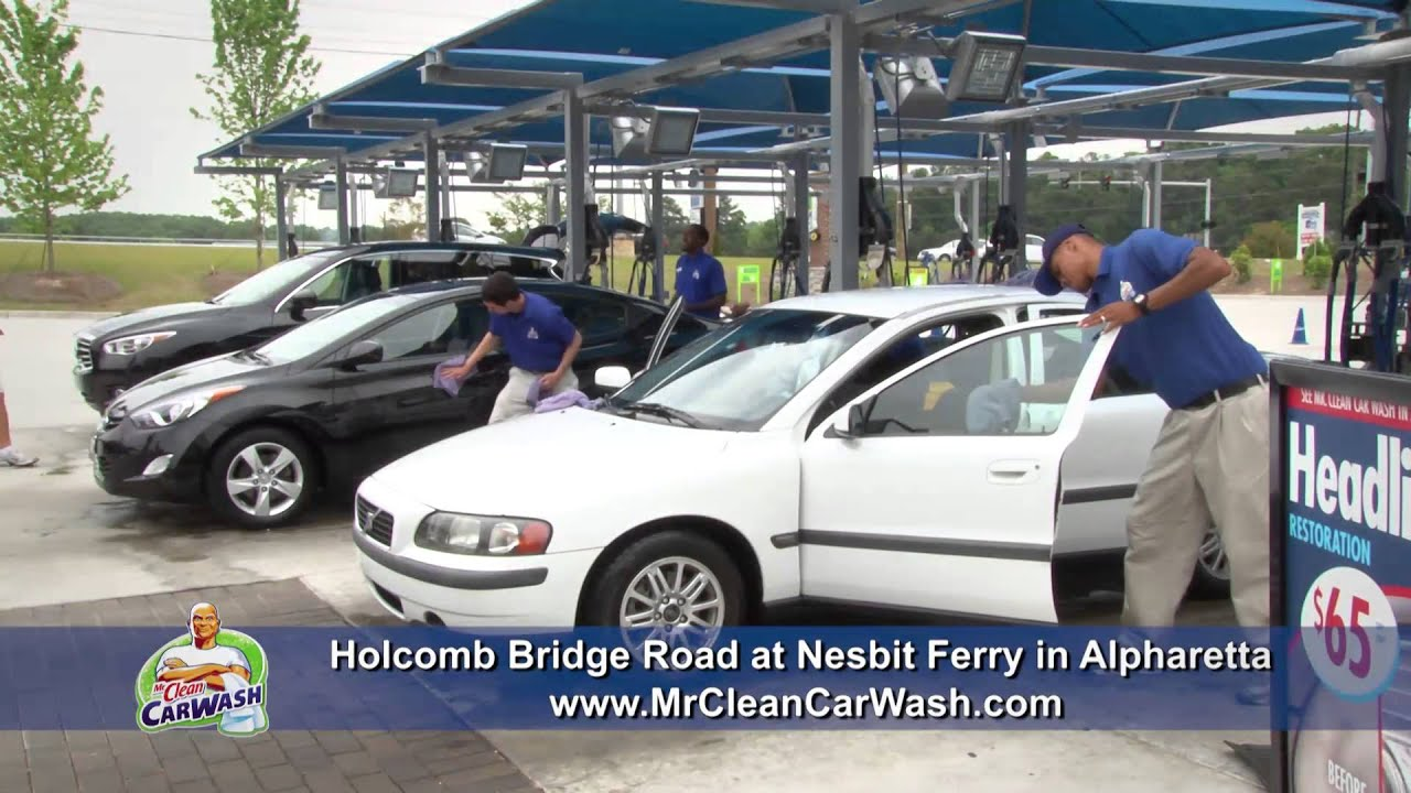 Mr clean carwash holcomb bridge youtube mr clean carwash holcomb bridge solutioingenieria Images
