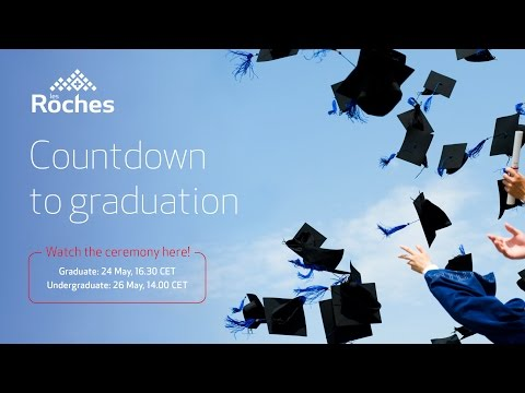 Graduation Ceremony Live Streaming - Les Roches Global Hospitality Education