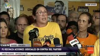 EN VIVO - Pronunciamiento en rechazo a militarización de la Asamblea Nacional