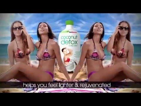 Fat Blaster Coconut Detox - thanh lọc cơ thể, loại bỏ mỡ thừa, giảm cân hiệu quả