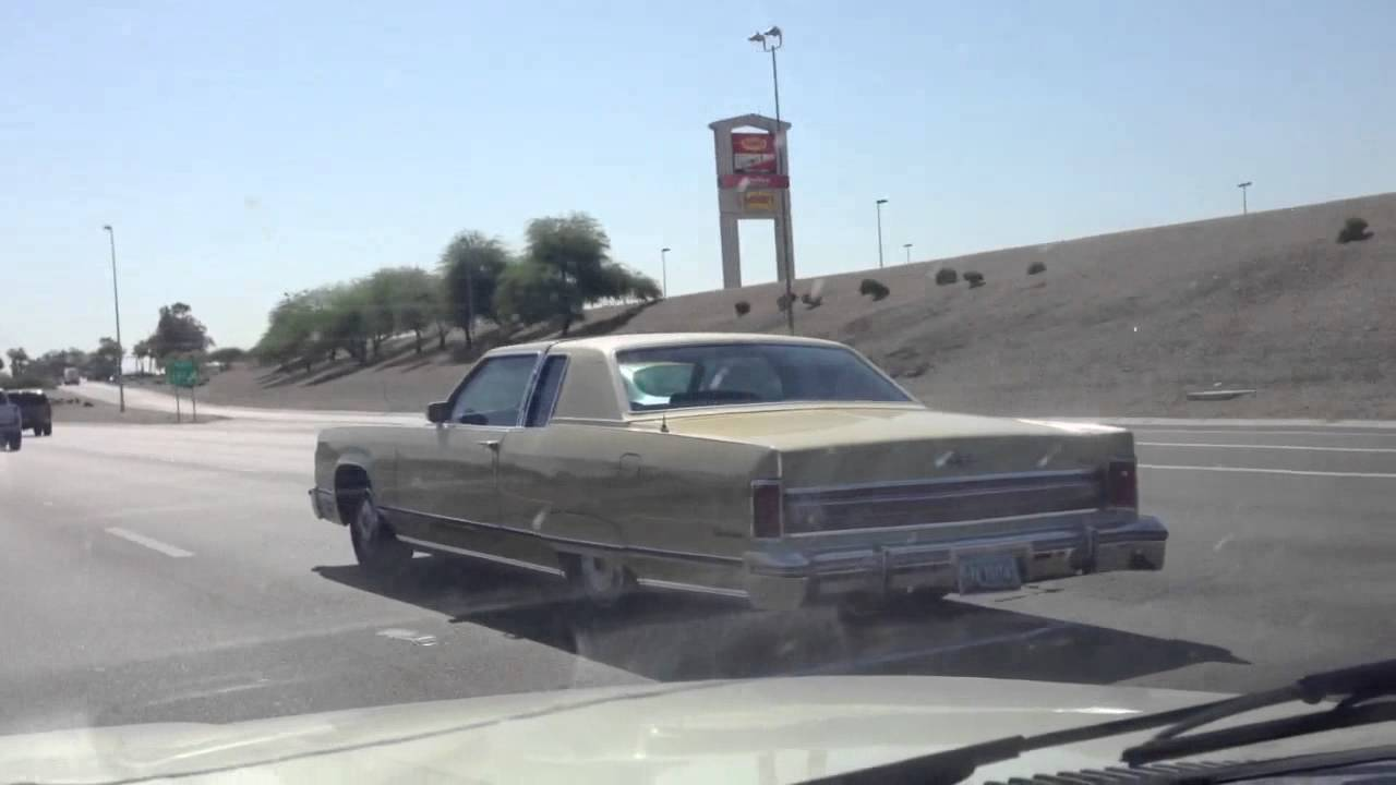 1976 Lincoln Continental Town Coupe A 70 S Land Yacht Youtube