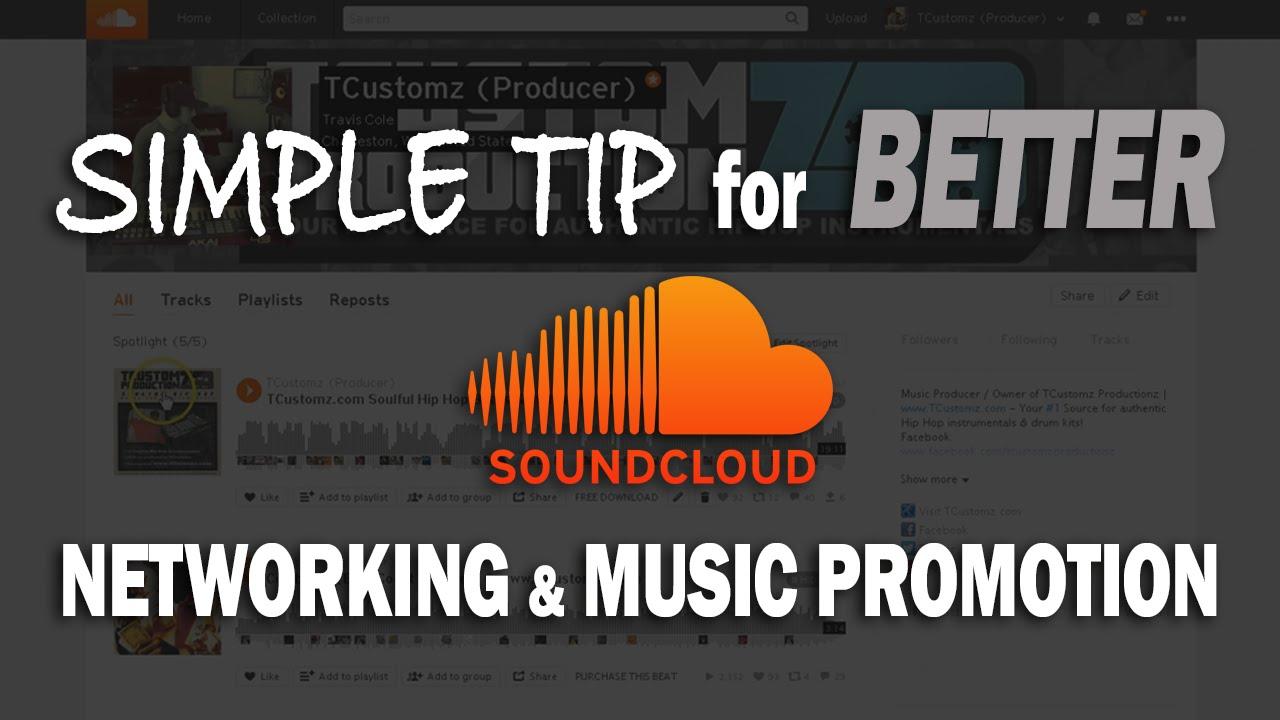 Soundcloud Playlist Promotion