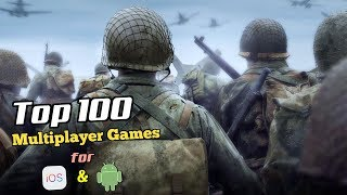 Top 100 Multiplayer Games for iOS & Android (Bluetooth/Wifi)
