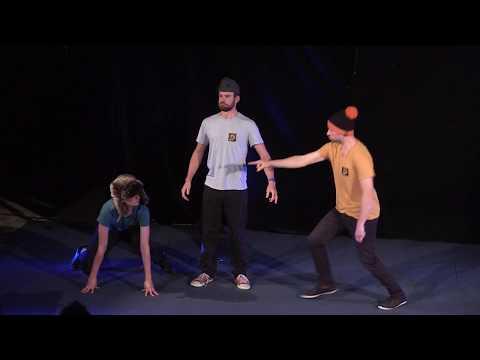 "The 5th International Improv Festival Tilt. imKubik (CHE) - ""Without a word"""