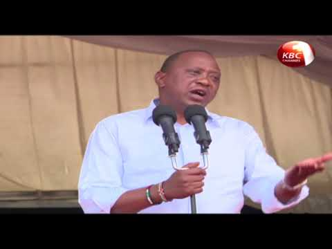 President Kenyatta calls on the country to shun politicking
