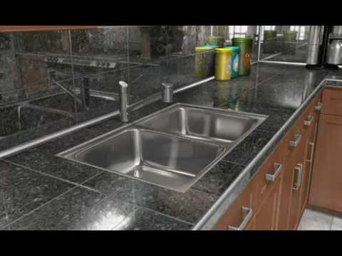 How To Install Tile Around Kitchen Sink