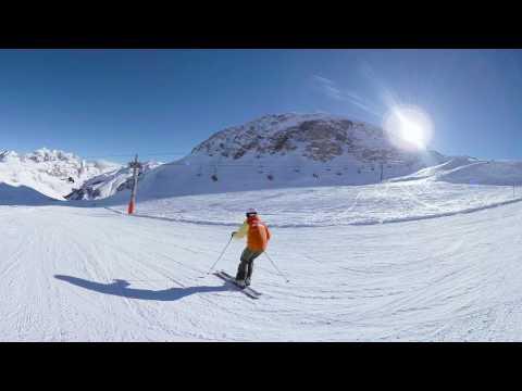 Mark Warner VR 360° video of Val d'Isere