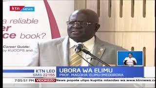 Prof. Maghoa ataka elimu bora katika vyuo vikuu vya Kenya